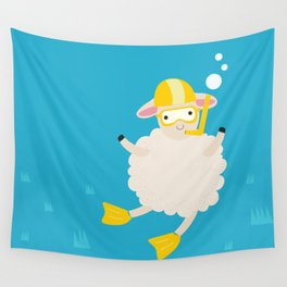 Sheep Series [SS 04] Wall Tapestry