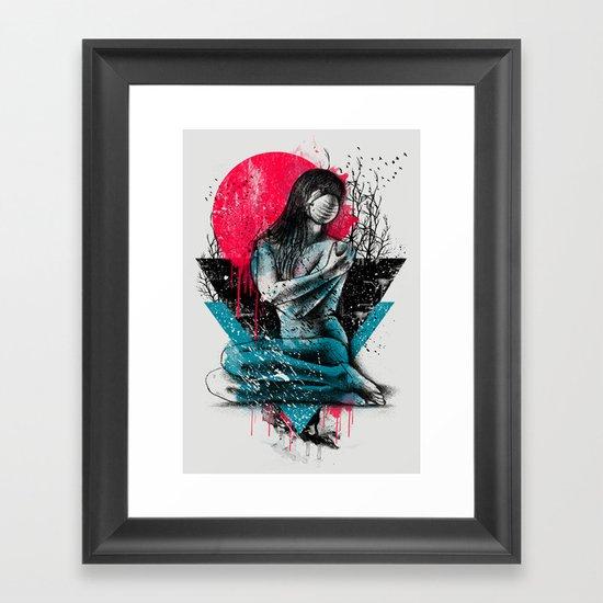 Suffocated Framed Art Print