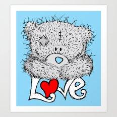 ME TO YOU=LOVE Art Print