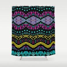 Tribal Dominance Shower Curtain