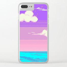 S k y Clear iPhone Case