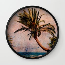 Sunset Beach, Hawaii Wall Clock