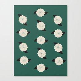 Botanic Wallpaper Canvas Print