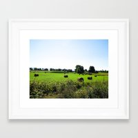 vermont Framed Art Prints featuring VERMONT by TechkyDude