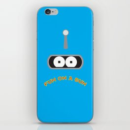 FUN ON A BUN iPhone Skin