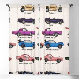 1969 Vintage Hot Wheels Redline Dealer's Store Display Poster Blackout Curtain