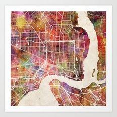 Jacksonville Art Print