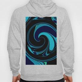 Dark Ocean Waves Hoody