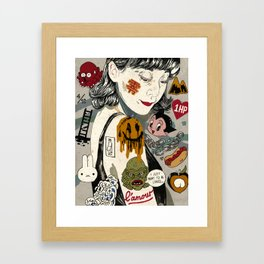 Lamour Framed Art Print