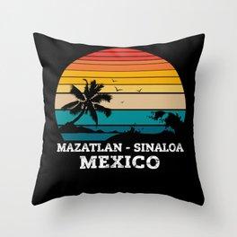 MAZATLAN - SINALOA MEXICO Throw Pillow