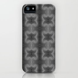 Varietile 37 B+W (Repeating 2) iPhone Case