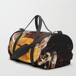 Espresso - watercolor Duffle Bag