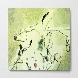 Picasso's Dog (Sea Debris) Metal Print