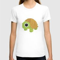 turtle T-shirts featuring Turtle by Adamzworld