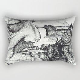 El Salvador Rectangular Pillow