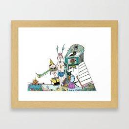 The Watch Tower Framed Art Print