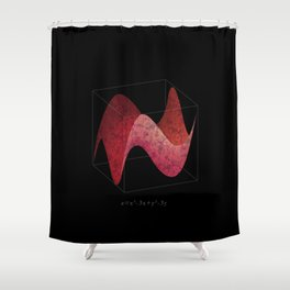 3D Function Shower Curtain