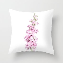 Pink Stock Throw Pillow
