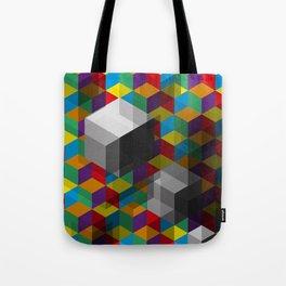 Isometric Colour Tote Bag