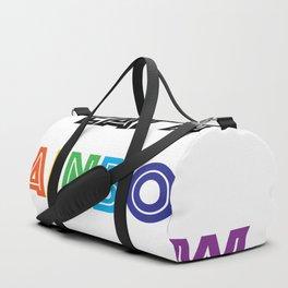 Eat A Rainbow Duffle Bag