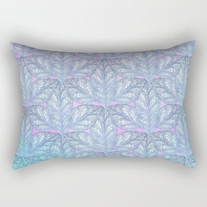Leaf Skeletons #3 Rectangular Pillow