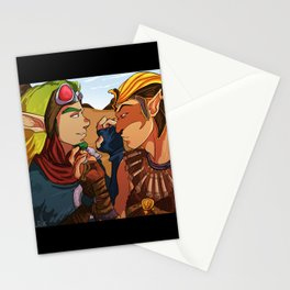 Jak and Sphinx Stationery Cards
