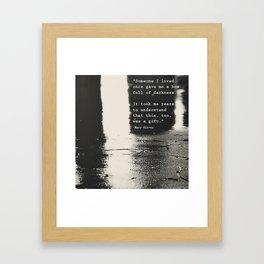 Box full of darkness Framed Art Print