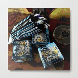 Happy Hanukkah DPGPA151024a Metal Print