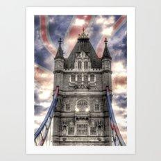 Pride of London Art Print