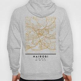 NAIROBI KENYA CITY STREET MAP ART Hoody