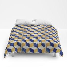 Portuguese tiles pattern Comforters