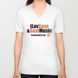iLuv Suya & Soul Music - TolumiDE Unisex V-Neck