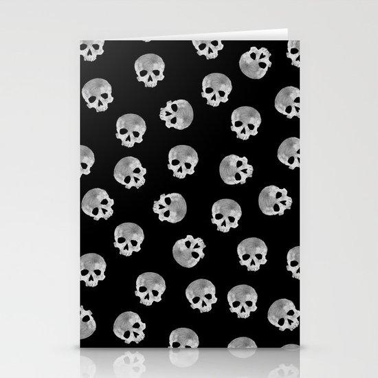 skull Moon Stationery Cards