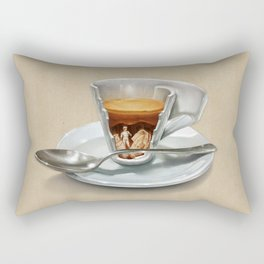 Italian coffee 2.0 Rectangular Pillow