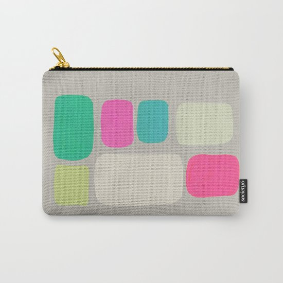 colour + pattern 2 Carry-All Pouch