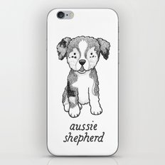 Dog Breeds: Australian Shepherd iPhone & iPod Skin
