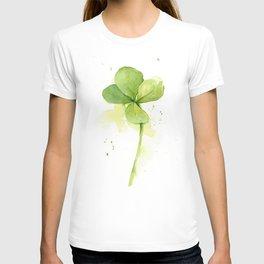 Four Leaf Clover Lucky Charm T-shirt