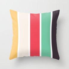 Summer Patio Throw Pillow