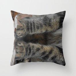 Little Paws Throw Pillow