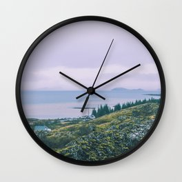 Country Cottage Wall Clock
