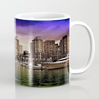 vancouver Mugs featuring Vancouver Storm by Anthony M. Davis