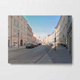 Summer in the city II | architectural photography Metal Print