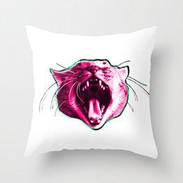 screamer Throw Pillow