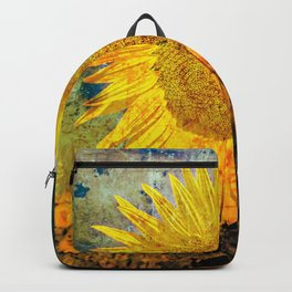 Ah Sun-flower! weary of time Backpack