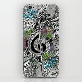 Musical Zentangle iPhone Skin