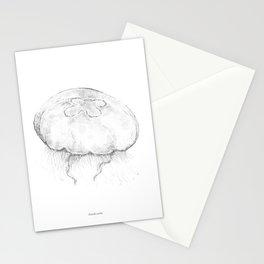 Aurelia aurita Stationery Cards