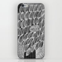 wild things iPhone & iPod Skins featuring Wild Things by Georgiana Paraschiv