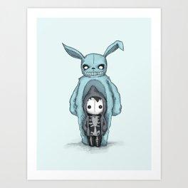 Plushie Darko Art Print