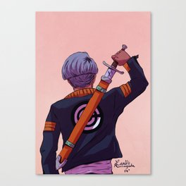 Mirai Trunks Canvas Print
