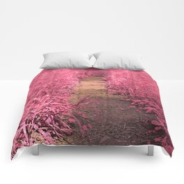 Windy Goose Creek Trail - Tickle Me Pink Comforters